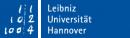 Logo Gottfried Wilhelm Leibniz Universität Hannover
