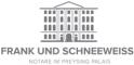 Logo Notare Dr. Frank und Dr. Schneeweiß GbR