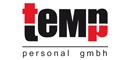 Logo teMp personal gmbh
