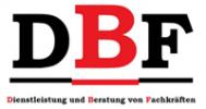Logo DBF Dienstleistung und Beratung von Fachkräften GmbH